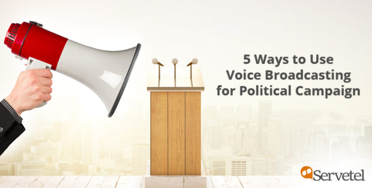 political voice broadcasting