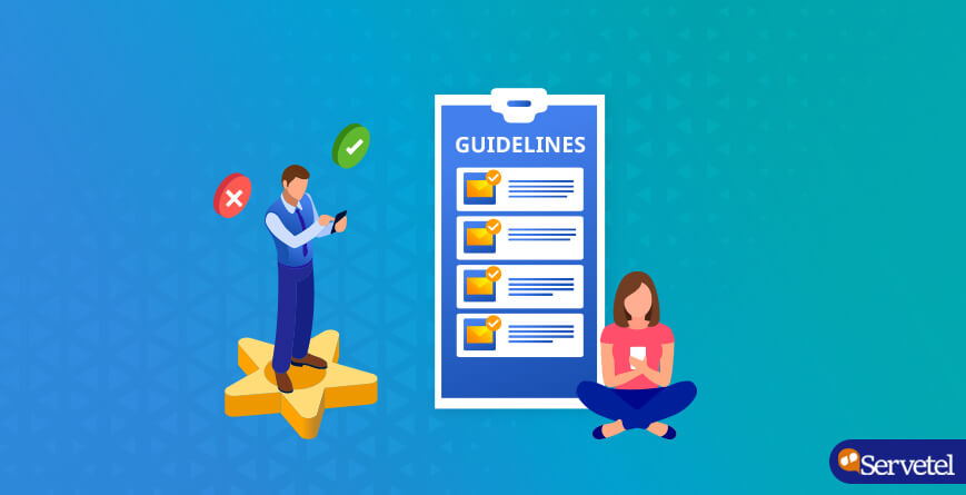 SMS guidelines in India:The do's and don'ts
