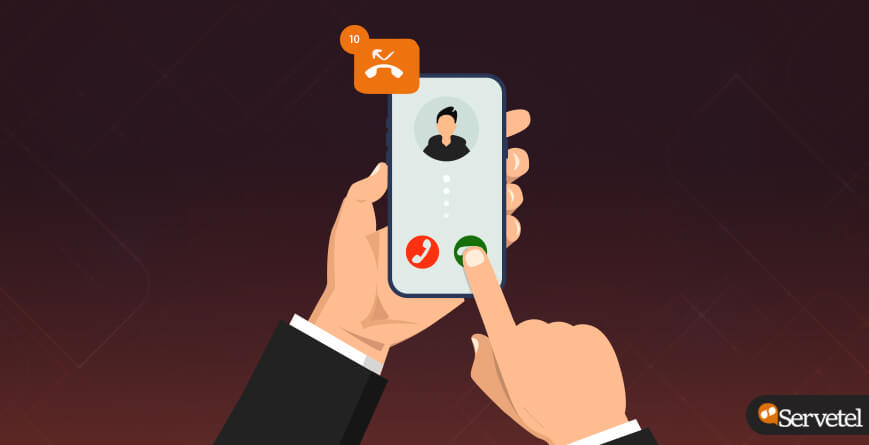 Missed call solution for business