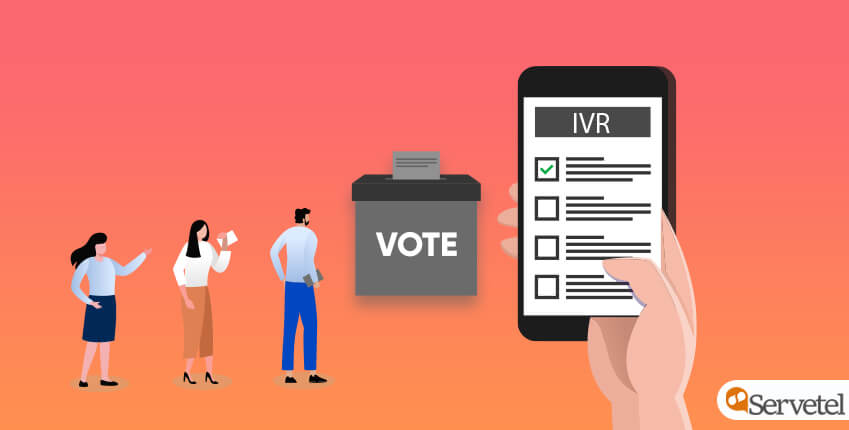 Manage elections with IVR solution