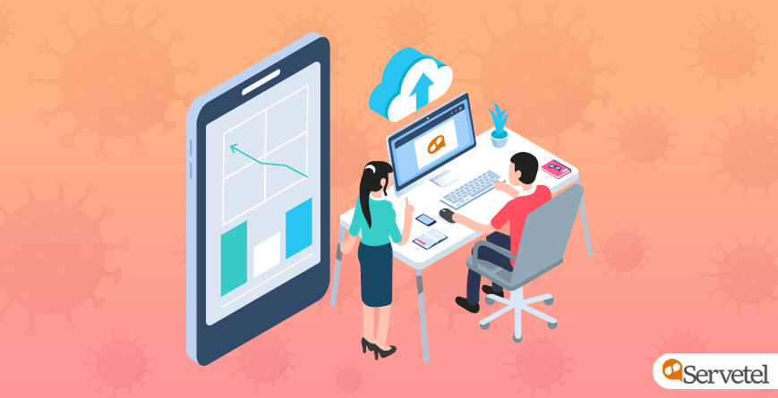 Handle business calls using cloud telephony during COVID-19