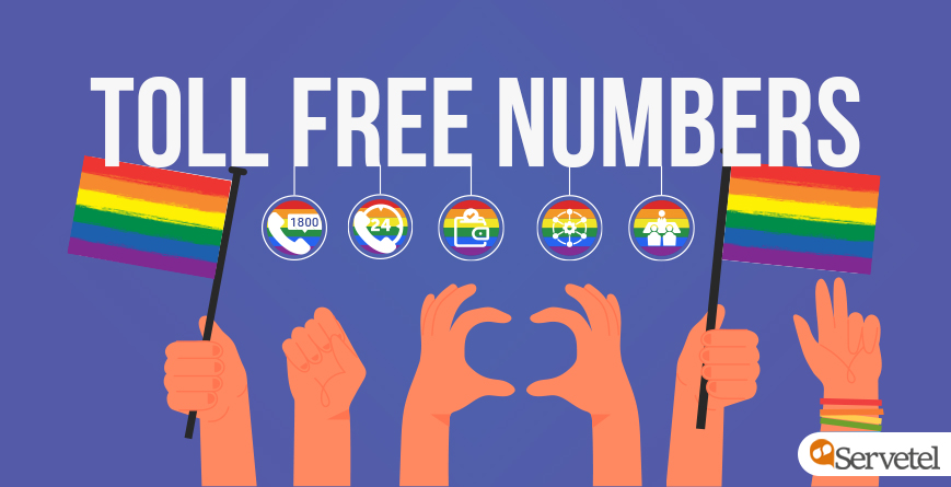 How Toll Free Number Are Helping LGBTQ Community