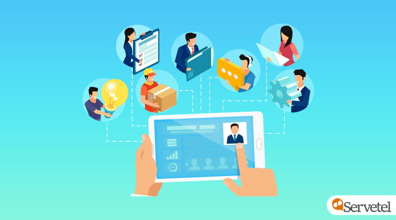 Cloud telephony and HR operations