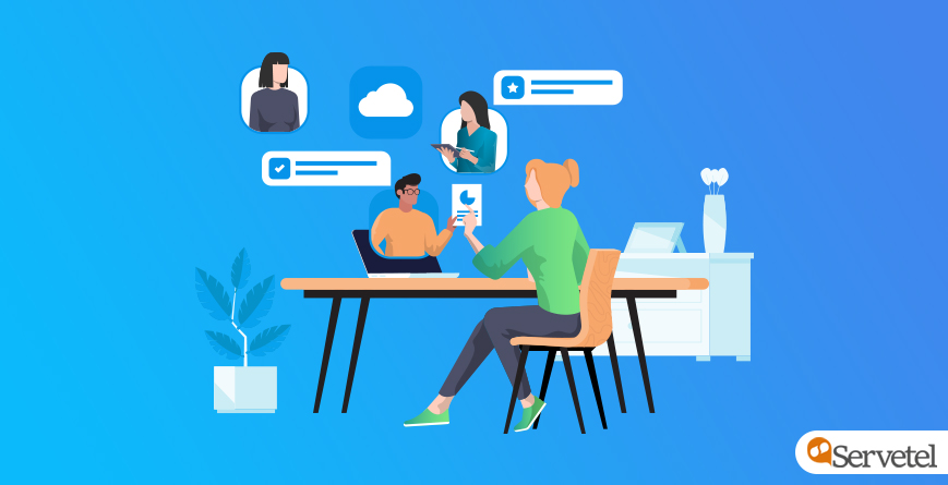Cloud telephony for managers and remote team
