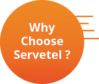 why choose servetel?